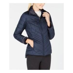 Womens Mossbud Fleece-Lined Reversible Jacket