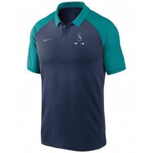 Seattle Mariners Mens Legacy Polo Shirt