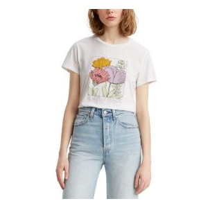 Floral Graphic Perfect Tee