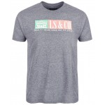 Mens Heathered Logo T-Shirt