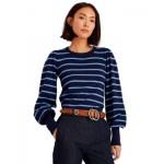 Crewneck Striped Sweater