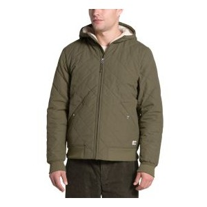 Mens Cuchillo Quilted Fleece-Lined Hooded Jacket