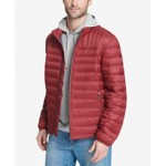 Mens Down Quilted Packable Puffer Jacket