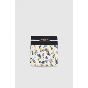 TROPICAL PRINT BOXER SHORTS