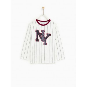 STRIPED NY T-SHIRT