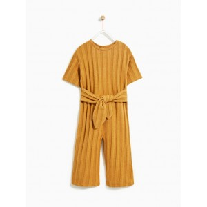 RIBBED CULOTTE JUMPSUIT
