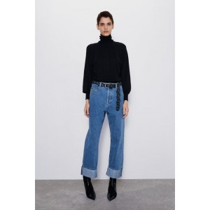 STRAIGHT LEG Z1975 JEANS WITH BELT