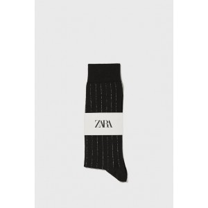MERCERIZED SOCKS WITH METALLIC THREAD
