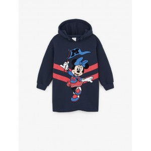 MINNIE MOUSE  DISNEY HOODED DRESS