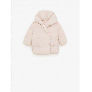WRAP FRONT DOWN PUFFER COAT