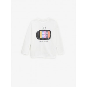 LENTICULAR PRINT TV T-SHIRT