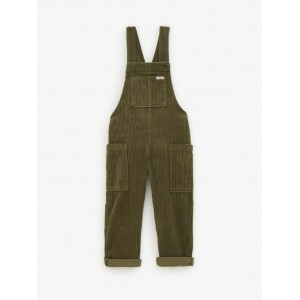 WIDE WALED CORDUROY OVERALLS