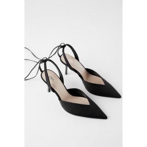 LOW VAMP HEELED SHOES