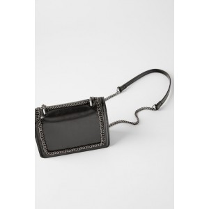 MINI CROSSBODY BAG WITH CHAIN DETAIL