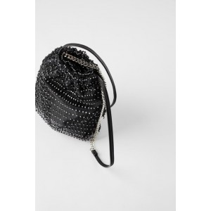 SPARKLY BUCKET BAG