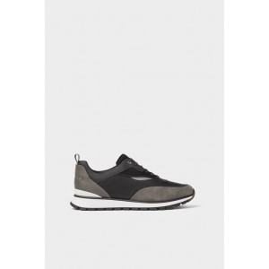 RETRO THICK-SOLED SNEAKERS