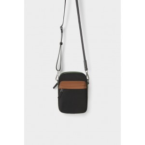 MINI CROSSBODY BAG WITH PLAID TRIM