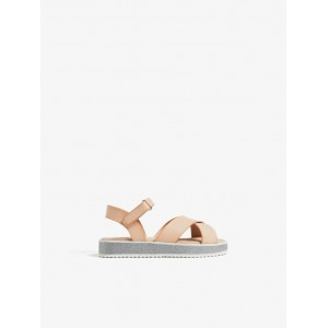 SANDAL WITH BUCKLED STRAP