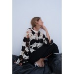 LIMITED EDITION CROCHETED FLORAL SWEATER