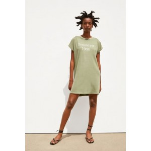 DRESS WITH FRONT TEXT