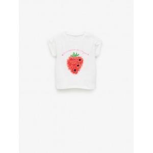 STRAWBERRY TIE TOP