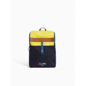 MIXED COTTON BACKPACK