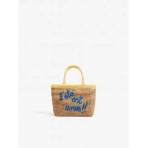 BASKET WITH TEXT