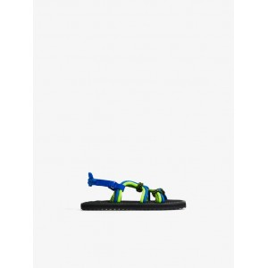 CONTRASTING CORD SANDALS