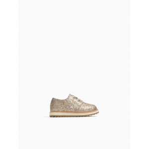 GLITTER DERBY SHOES