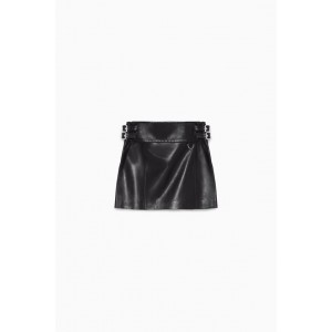 LIMITED EDITION LEATHER MINI SKIRT