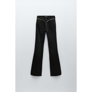 Z1975 HI-RISE FLARED JEANS WITH BELT