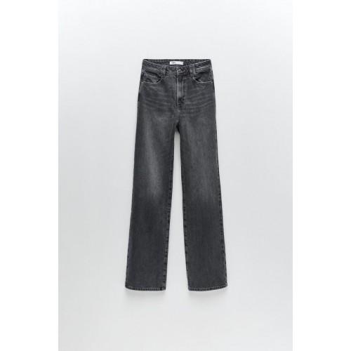 자라 Z1975 STRAIGHT LEG FULL LENGTH JEANS