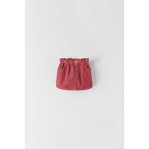 BASIC CORDUROY PAPERBAG SKIRT
