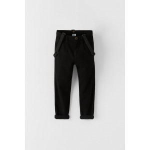 SUSPENDER CHINO PANTS
