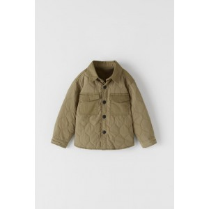 PADDED OVERSHIRT WITH POCKETS