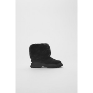 LINED ANKLE BOOTS