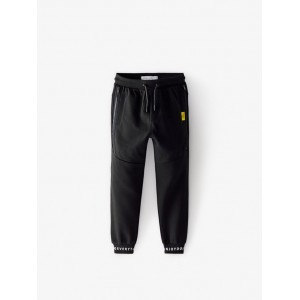 PLUSH PIQUE PANTS WITH ZIPPERS