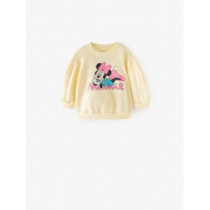 MINNIE AND MICKEY MOUSE  DISNEY SWEATSHIRT