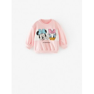 DISNEY MINNIE MOUSE AND DAISY DUCK SWEATSHIRT
