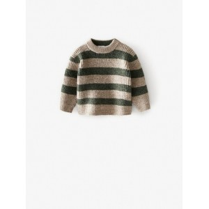 KNIT SWEATER WITH STRIPES