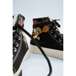 TOM AND JERRY  &™ WARNER BROS. HIGH TOP SNEAKERS