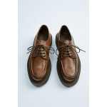 THICK-SOLED LEATHER SHOES