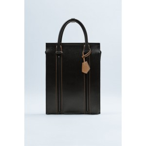 TWO-TONED SHOPPER BACKPACK