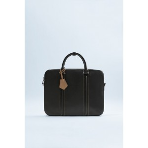 TWO-TONED BRIEFCASE