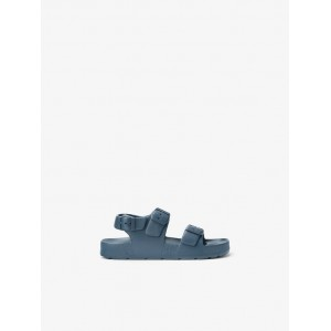 MONOCHROME BUCKLED SANDALS