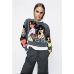 COMBINATION GIRLS SWEATSHIRT