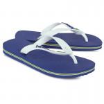 Blue Brasil Flip Flops