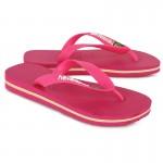 Pink Brasil Flip Flops