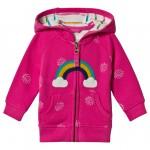 Pink Rainbow Full Zip Hoodie