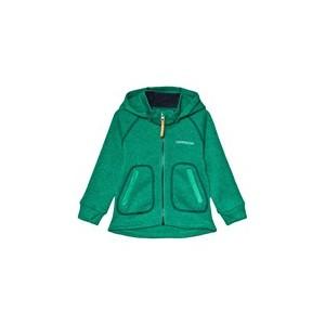 Bright Green Strokken Kids Jacket